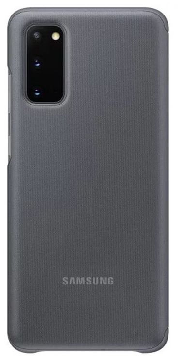 Samsung Clear View Case For Samsung Galaxy S20 Grey