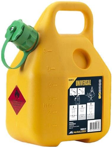 McCulloch Universal OLO013 Fuel Can 6l