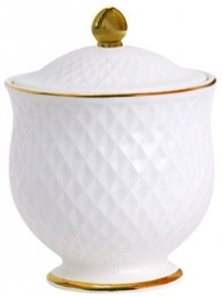 Quality Ceramic E Clat Gold Sugar Bowl 260ml
