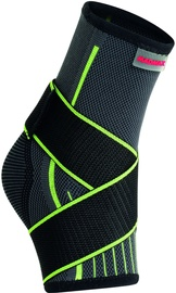 Mad Max 3D Compressive Ankle Support With Strap Dark Grey/Neon Green M