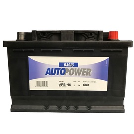 Akumuliatorius Autopower H6 74AH 680A