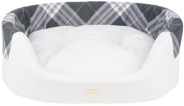 Amiplay Kent Dog Ellipse Bedding 2in1 M 64x55x19cm White