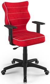 Vaikiška kėdė Entelo Duo Size 5 VS09 Black/Red, 400x375x1000 mm