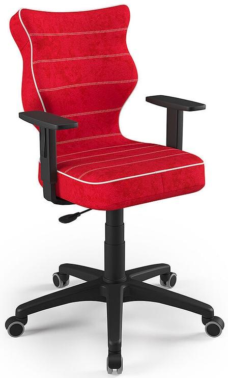 Детский стул Entelo Duo Size 5 VS09, черный/красный, 375 мм x 1000 мм