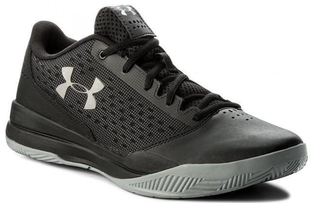 Under Armour Basketball Shoes Jet Low 3020254-002 Black 40.5