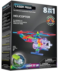 Laser Pegs 8 in 1 Helicopter