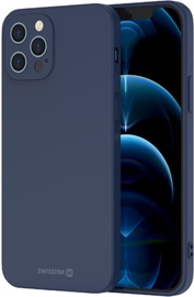 Swissten Soft Joy Silicone Case Apple iPhone 11 Pro Blue