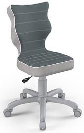 Детский стул Entelo Petit CR06, серый, 350 мм x 830 мм