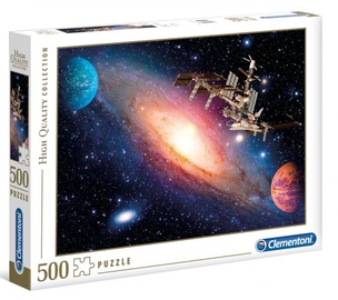 Clementoni Puzzle High Quality Collection Space Station 500pcs 35075