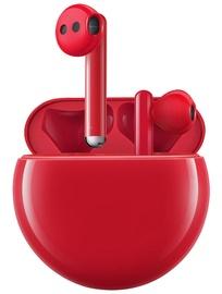 Ausinės Huawei FreeBuds 3 Red, belaidės