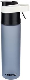 Dzeramā ūdens pudele Avento, melna/pelēka, 0.6 l