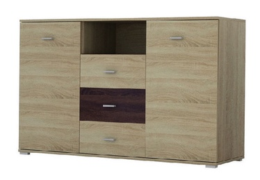 Idzczak Meble Bergamo II 135 Chest Of Drawers Sonoma Oak