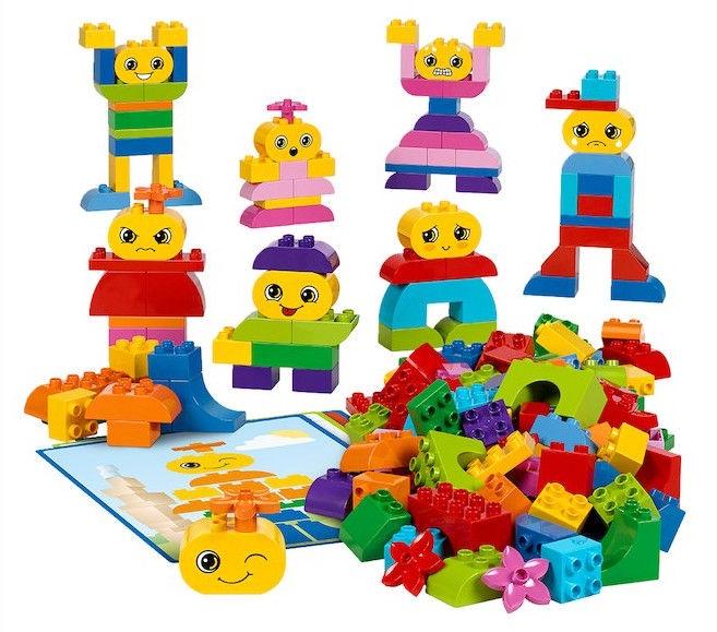 Конструктор LEGO Education Education Build Me Emotions 45018 45018, 188 шт.