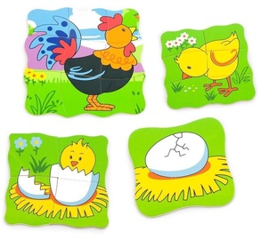 Viga Grow Up Puzzle Rooster 50113