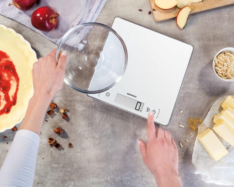 Elektrooniline köögikaal Soehnle Page Comfort 400, valge