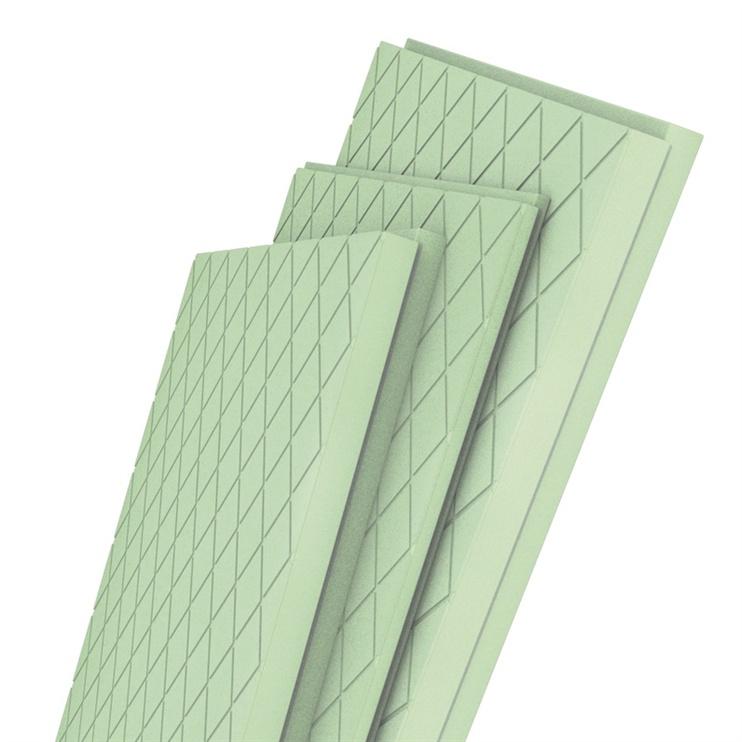 Pamatinis putų polistirenas Tenax, 50 x 600 x 1200 mm, 8 vnt.