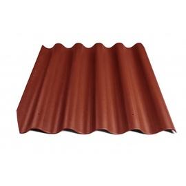 Безасбестовый лист Eternit Baltic Corrugated Sheet Bordo 920x875