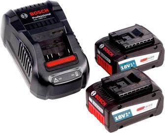 Bosch GBA 18V 6.3Ah 2pcs + AL3680CV Charger
