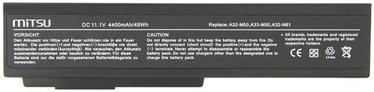 Mitsu Battery For Asus M50/N61 4400mAh