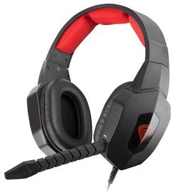Žaidimų ausinės Natec Genesis H59 Black/Red