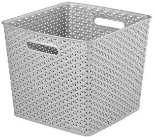Curver My Style Square Basket Silver
