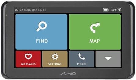 Mio Spirit 8670 LM TMC Bluetooth