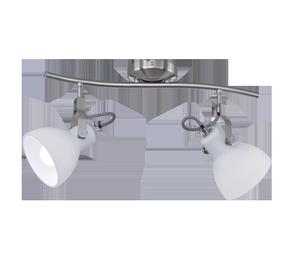 Светильник Trio Ginelli Spotlight Wall Lamp 2x28W E14 Nickel