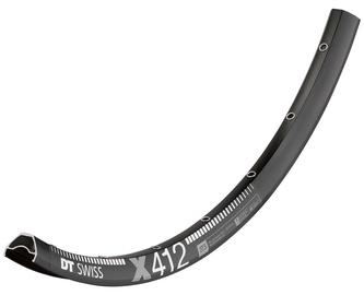 """DT Swiss X 412 29"""" (622x22.5) 32H Black"""