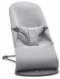 BabyBjorn Bouncer Bliss Light Grey 3D Jersey
