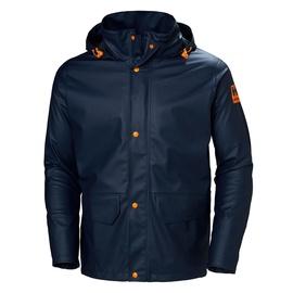 Helly Hansen WorkWear Gale Rain Jacket Navy M