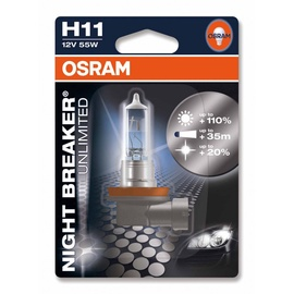 Automašīnas spuldze Osram 55W 12V H11