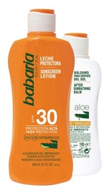 Babaria Aloe Vera Sunscreen Lotion SPF30 200ml + After Sunbathing Balm 100ml