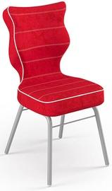 Детский стул Entelo Solo Size 4 VS09, красный/серый, 340 мм x 775 мм