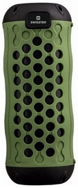 Swissten X-Boom Outdoor Carabiner Silikon Bluetooth Speaker Green