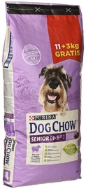 Purina Dog Chow Senior with Lamb 11+3kg