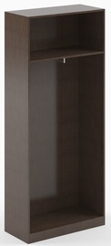 Skyland Simple SR-G Wardrobe Frame Dark Brown