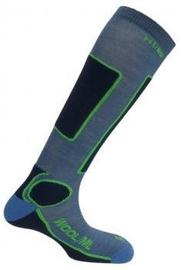 Mund Socks Skiing Antibacterias Blue L