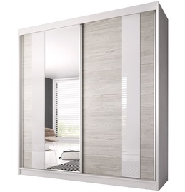 Idzczak Meble Wardrobe Multi II 32 203cm White