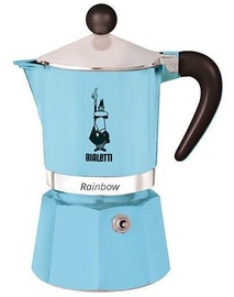 Bialetti Rainbow Coffee Maker 0.15l Blue