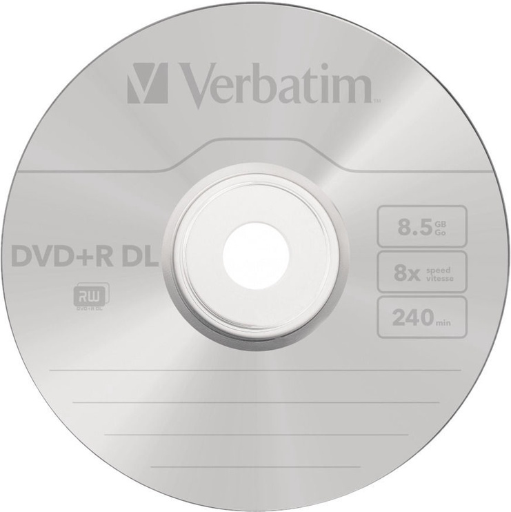Verbatim DVD+R DL 8.5GB 8x 50pcs 43703