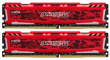 Crucial Ballistix Sport LT 8GB 2666MHz CL16 DDR4 DIMM KIT OF 2 BLS2C4G4D26BFSE