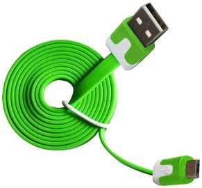 Vakoss Cable USB to USB-micro Green 1m