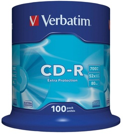 Verbatim CD-R 52X 700MB 100P Cake Box