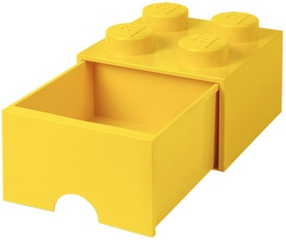 LEGO Storage Brick Drawer 4 Yellow