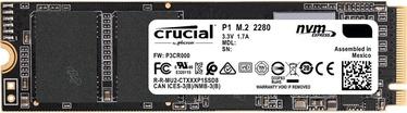 Serveri kõvaketas (SSD) Crucial P1 M.2 SSD 500GB (kahjustatud pakend)