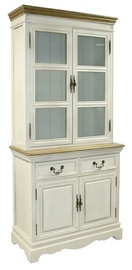 Home4you Showcase Samira Antique White 13719