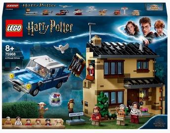 Конструктор LEGO Harry Potter Тисовая улица, дом 4 75968, 797 шт.