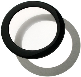DEMCiflex Dust Filter 80mm Round black/White