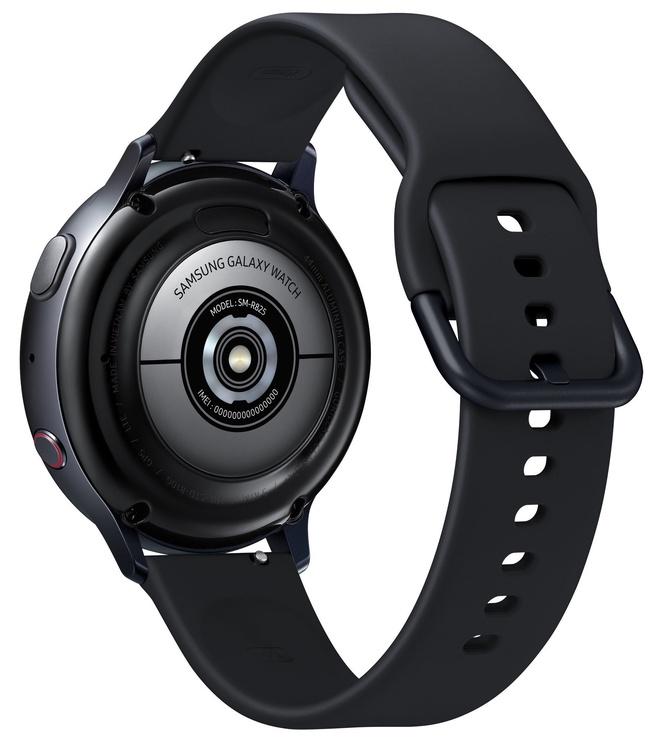 Išmanusis laikrodis Samsung SM-R825 Galaxy Watch Active2 44mm LTE Aluminium Black