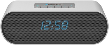 Belaidė kolonėlė Blaupunkt BT15CLOCK Portable Bluetooth Speaker Gray
